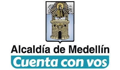 Logo alcaldía de Medellín