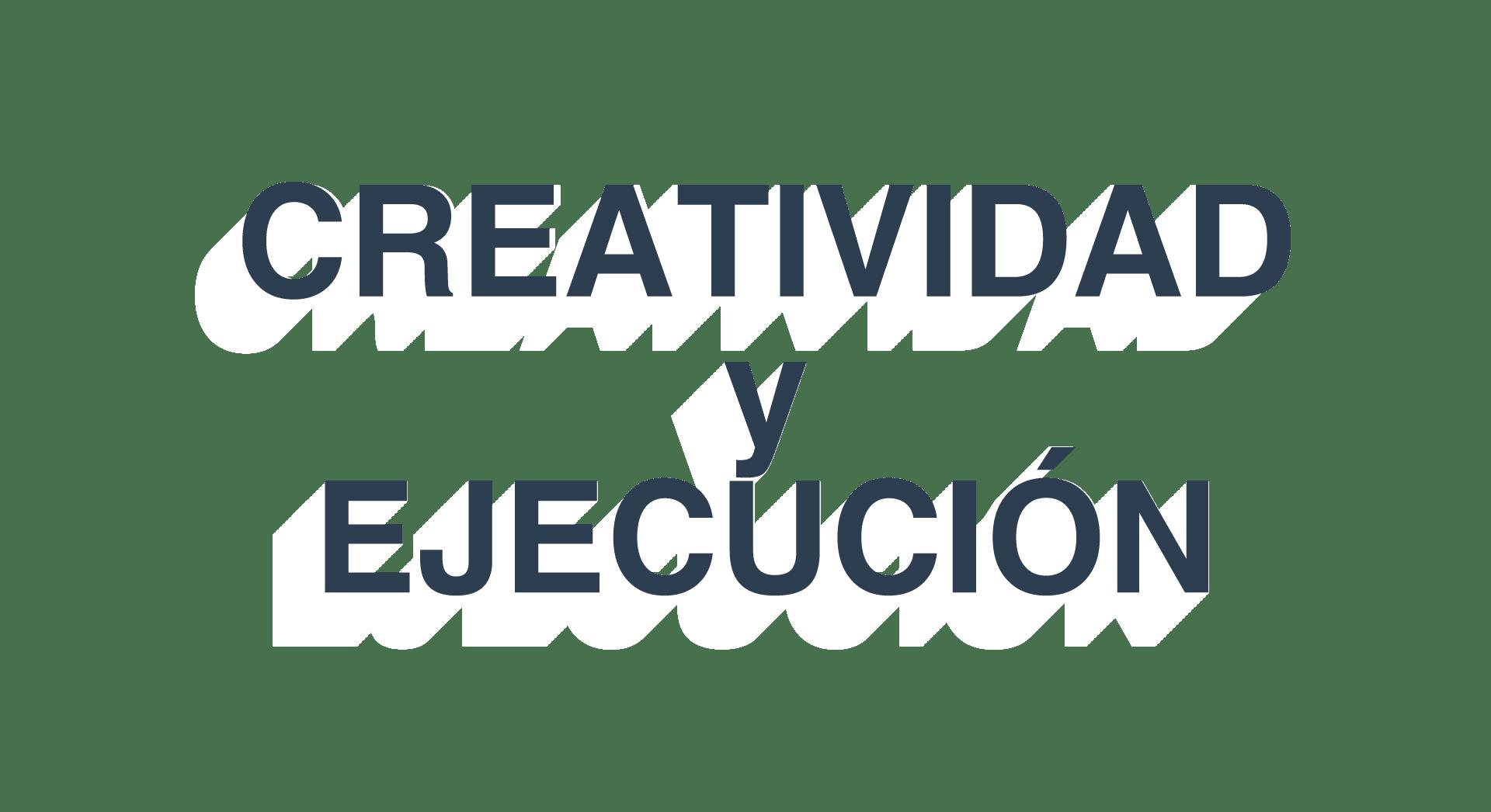 creatividad y ejecución inexmoda
